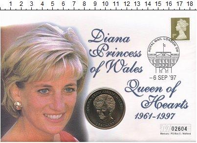 Изображение Подарочные монеты Великобритания Медаль 1997 Бронза UNC В память о принцессе