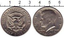 Изображение Монеты США 1/2 доллара 1972 Медно-никель XF