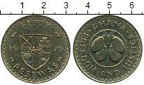 Изображение Монеты Гана 50 песев 1979 Латунь UNC-