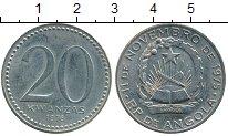 Изображение Монеты Ангола 20 кванза 1978 Медно-никель UNC-