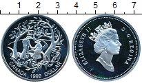 Изображение Монеты Канада 1 доллар 1999 Серебро Proof