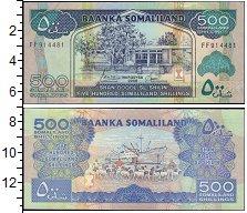 Изображение Банкноты Сомали Сомалиленд 500 шиллингов 2006  UNC