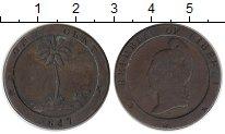 Изображение Монеты Либерия 1 цент 1847 Медь VF+
