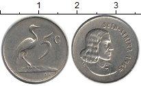 Изображение Монеты ЮАР 5 центов 1965 Медно-никель XF