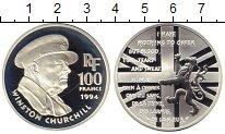 Изображение Монеты Франция 100 франков 1994 Серебро Proof-