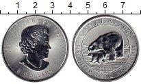 Изображение Монеты Канада 8 долларов 2015 Серебро UNC