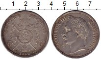 Изображение Монеты Франция 5 франков 1863 Серебро XF