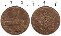Изображение Монеты Франция 10 франков 1977 Латунь XF