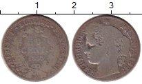 Изображение Монеты Франция 50 сантим 1875 Серебро VF