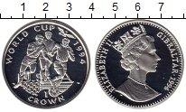 Изображение Монеты Великобритания Гибралтар 1 крона 1994 Серебро Proof-