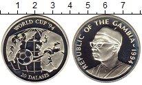 Изображение Монеты Гамбия 20 даласи 1994 Серебро Proof-
