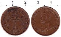Изображение Монеты Цейлон 1 цент 1925 Бронза XF