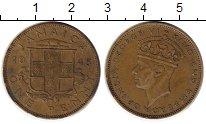 Изображение Монеты Ямайка 1 пенни 1945 Латунь VF