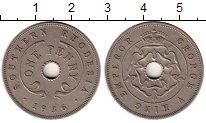 Изображение Монеты Великобритания Родезия 1 пенни 1936 Медно-никель XF