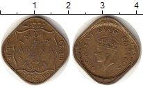 Изображение Монеты Индия 1/2 анны 1944 Латунь XF