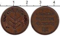 Изображение Монеты Палестина 1 мил 1939 Бронза VF
