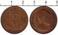Изображение Монеты Ливия 2 миллима 1952 Бронза XF