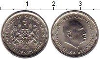 Изображение Монеты Сьерра-Леоне 5 центов 1984 Медно-никель UNC-
