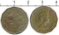 Изображение Монеты Нигерия 3 пенса 1959 Латунь XF