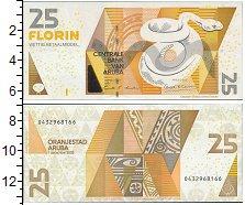 Изображение Банкноты Нидерланды Аруба 25 флоринов 2003  UNC