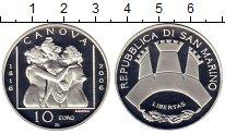 Изображение Монеты Сан-Марино 10 евро 2006 Серебро Proof-