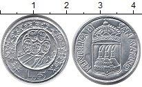 Изображение Монеты Сан-Марино 5 лир 1973 Алюминий UNC