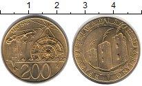 Изображение Монеты Сан-Марино 200 лир 1992 Латунь UNC