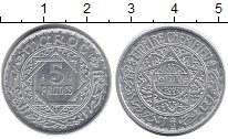 Изображение Монеты Марокко 5 франков 1950 Алюминий UNC-