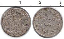 Изображение Монеты Нидерландская Индия 1/10 гульдена 1938 Серебро VF