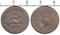 Изображение Монеты Великобритания Восточная Африка 50 центов 1952 Медно-никель XF