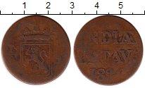 Изображение Монеты Нидерландская Индия 1/2 стивера 1826 Медь VF