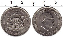 Изображение Монеты Сьерра-Леоне 20 центов 1984 Медно-никель UNC