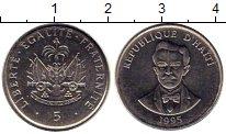 Изображение Монеты Гаити 5 центов 1995 Медно-никель XF