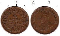 Изображение Монеты Индия 1/12 анны 1934 Бронза VF
