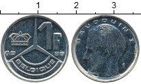 Изображение Дешевые монеты Бельгия 1 франк 1989 Медно-никель VF+