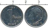 Изображение Дешевые монеты Бельгия 1 франк 1998 Медно-никель XF-