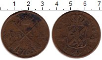 Изображение Монеты Швеция 2 эре 1765 Медь VF