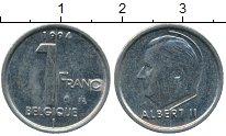 Изображение Дешевые монеты Бельгия 1 франк 1994 Медно-никель VF