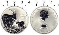 Изображение Мелочь Новая Зеландия Токелау 5 долларов 2015 Серебро UNC