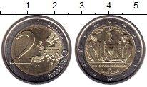 Изображение Монеты Италия 2 евро 2018 Биметалл UNC-