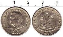 Изображение Монеты Филиппины 25 сентим 1974 Медно-никель XF
