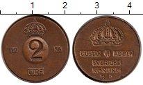 Изображение Монеты Швеция 2 эре 1956 Бронза XF