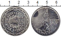 Изображение Монеты Франция 15 евро 2008 Серебро UNC