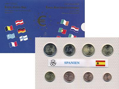 Изображение Подарочные монеты Испания Испания 2002 2002  UNC