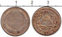 Изображение Монеты Сальвадор 10 сентаво 1914 Серебро VF