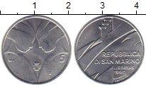 Изображение Монеты Сан-Марино 5 лир 1990 Алюминий UNC