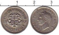 Изображение Монеты Великобритания 3 пенса 1937 Серебро VF