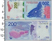 Изображение Банкноты Аргентина 200 песо 2016  UNC