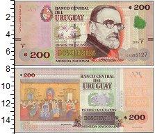 Изображение Банкноты Уругвай 200 песо 2015  UNC