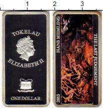 Изображение Монеты Новая Зеландия Токелау 1 доллар 2013 Серебро Proof-